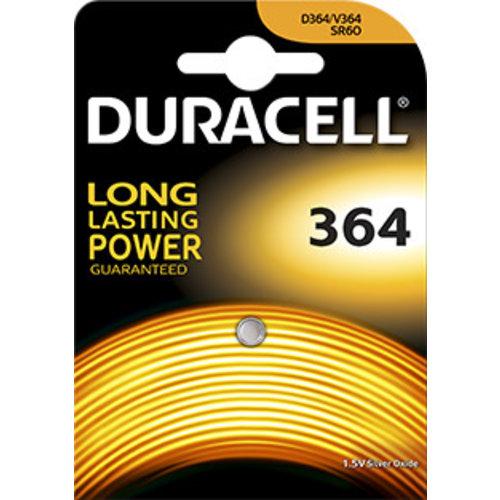 Duracell D364 SR621SW Silveroxid 1,55V Blister 1