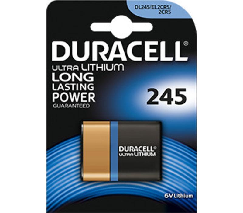 Duracell DL245A Lithium 6V Blister 1