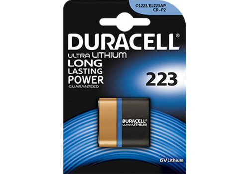 Duracell Duracell DL223A Lithium 6V Blister 1