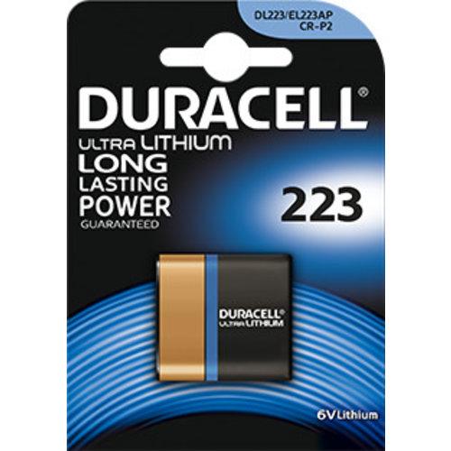 Duracell DL223A Lithium 6V Blister 1
