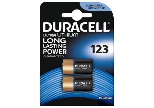 Duracell Duracell DL123A Lithium 3V Blister 2