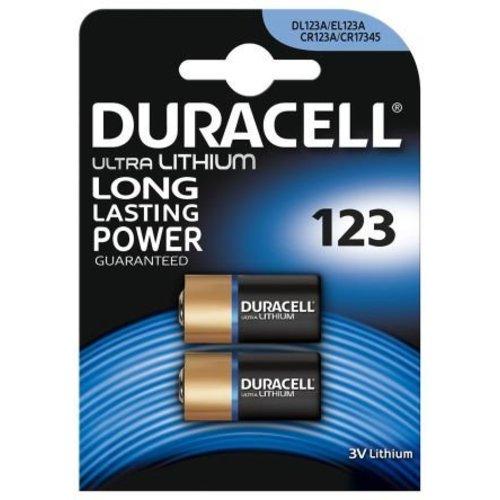 Duracell DL123A Lithium 3V Blister 2