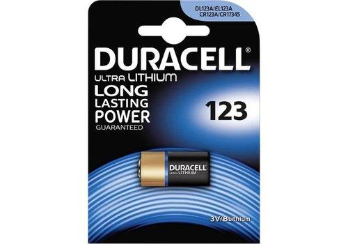 Duracell Duracell DL123A Lithium 3V Blister 1