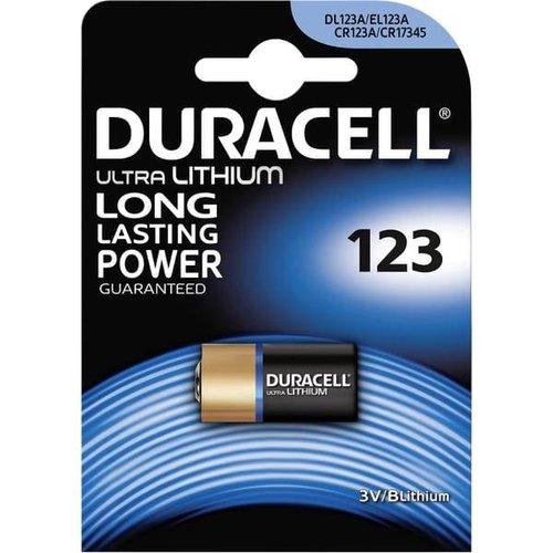 Duracell DL123A Lithium 3V Blister 1