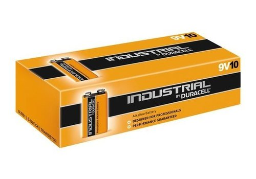 Duracell Duracell Industrial Alkaline MN1604 9V 6LR61 10 Pack