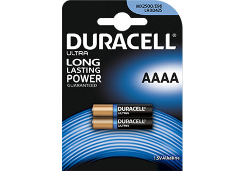 Duracell Duracell MN2500 AAAA Alkaline 1,5V Blister 2