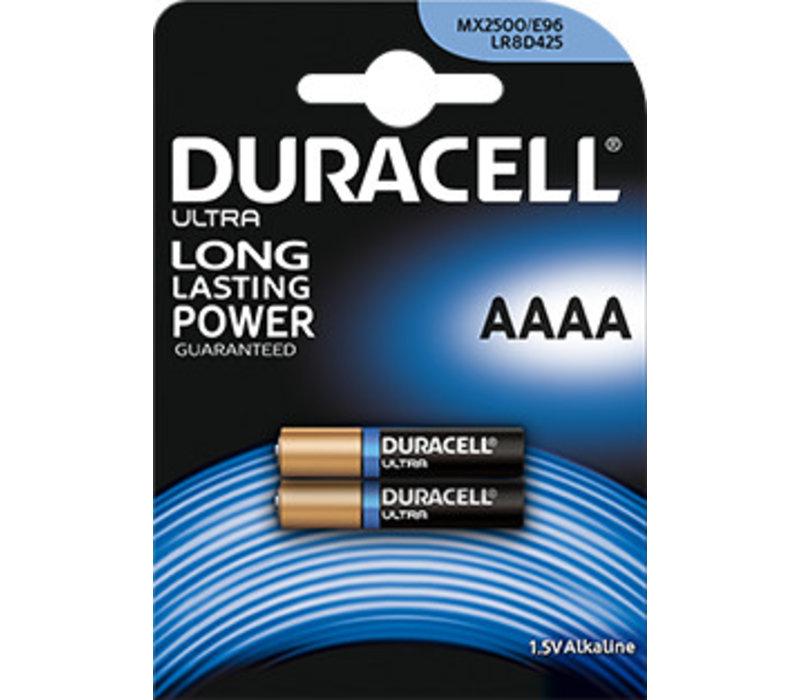 Duracell MN2500 AAAA Alkaline 1,5V Blister 2