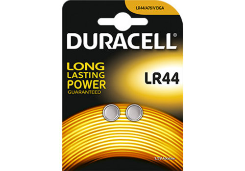 Duracell Duracell LR44 A76 Alkaline 1,5V Blister 2