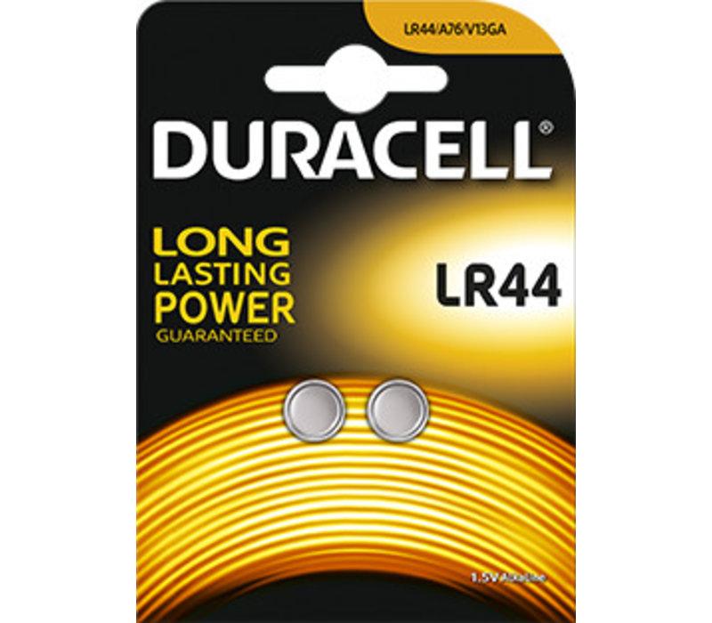 Duracell LR44 A76 Alkaline 1,5V Blister 2