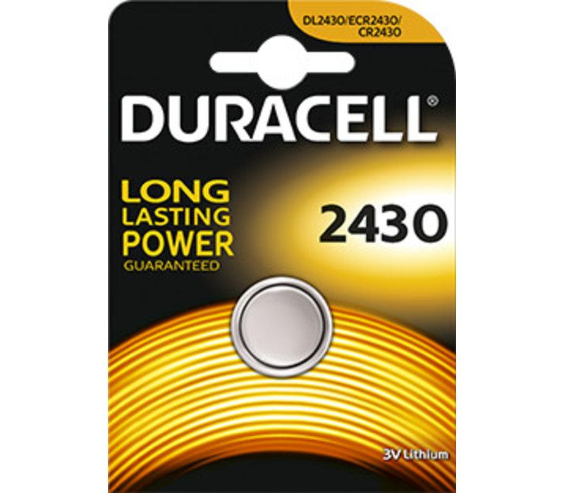Duracell DL2430 Lithium 3V Blister 1