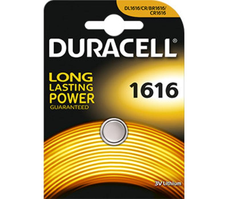 Duracell DL1616 Lithium 3V Blister 1