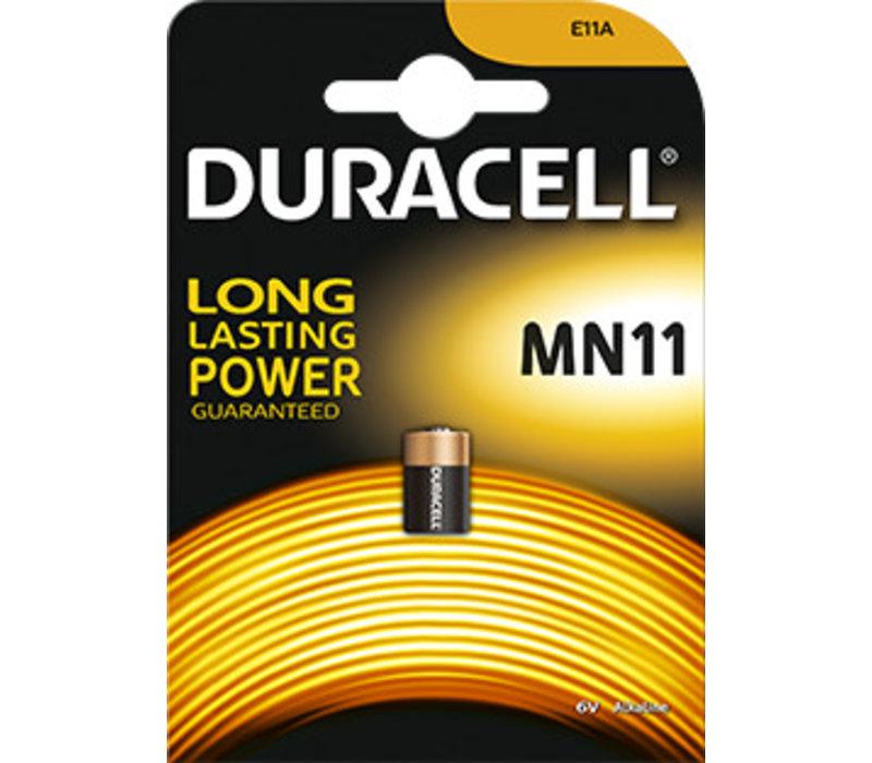Duracell MN11 Alkaline 6V Blister 1