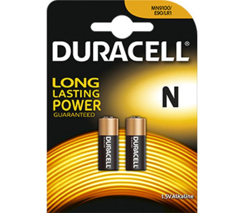 Duracell MN9100 LR01 Alkaline 1,5V Blister 2