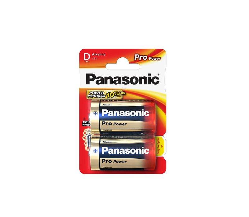 Panasonic LR20 Pro Power Blister 2
