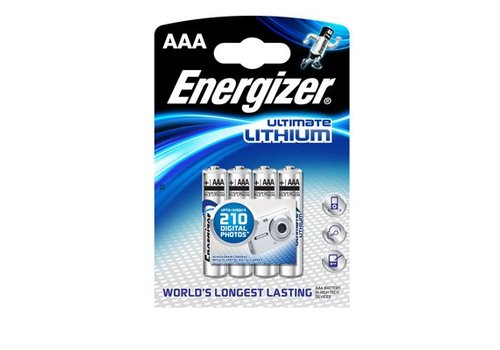 Energizer Energizer L92 AAA 1.5V Lithium Blister 4