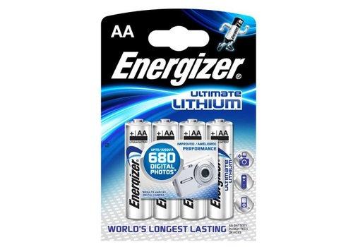 Energizer Energizer L91 AA 1.5V Lithium Blister 4