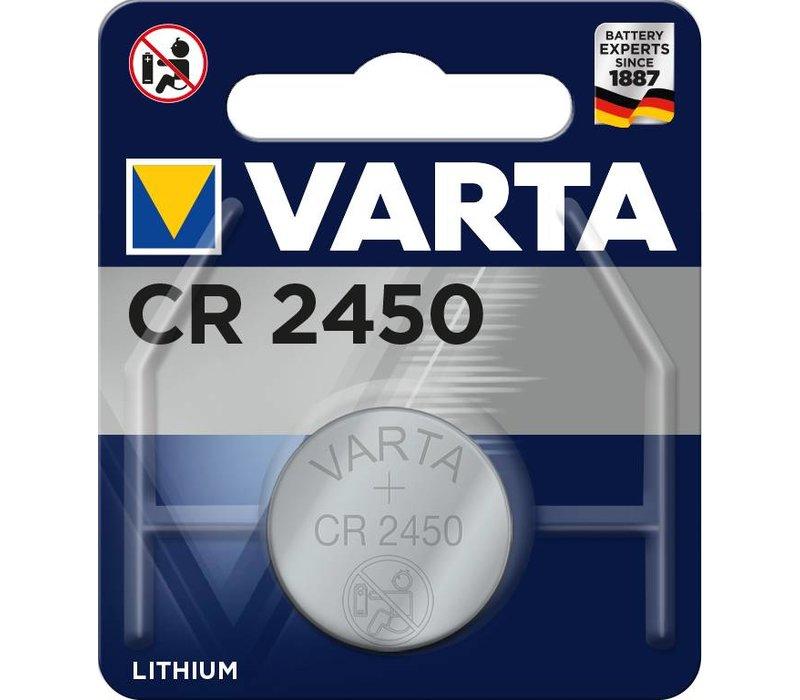 Varta 6450 CR2450 3V Lithium Blister 1