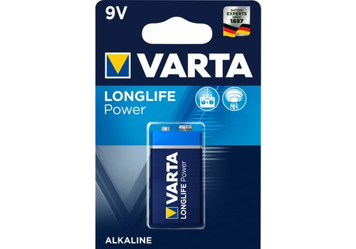 Varta Varta 4922 Longlife Power 6LR61 Blister 1