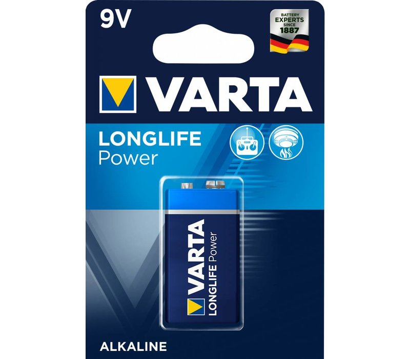 Varta 4922 Longlife Power 6LR61 Blister 1