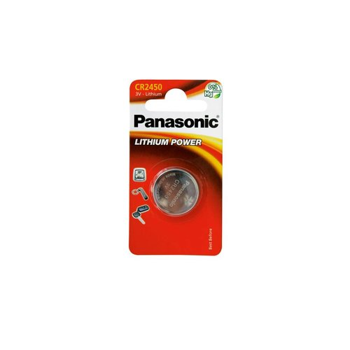 Panasonic CR2450 Lithium 3V Blister 1