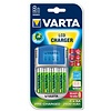 Varta Varta LCD Plug Charger + 12V + USB 4 x AA 2600mAh