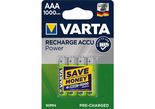 Varta Varta 5703 Micro Nimh 1000mAh Blister 4