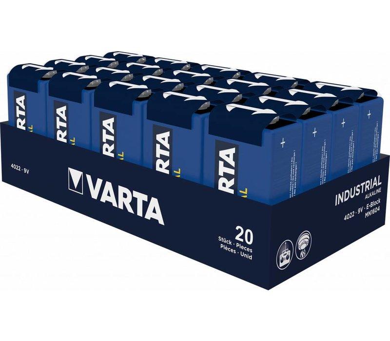 Varta 4022 Industrial 6LR61 9V