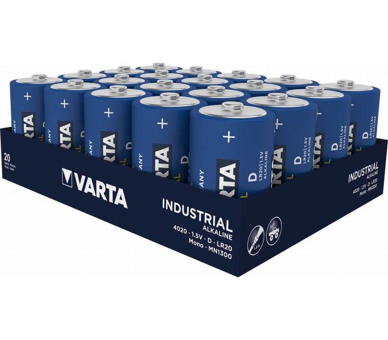 Varta 4020 Industrial LR20