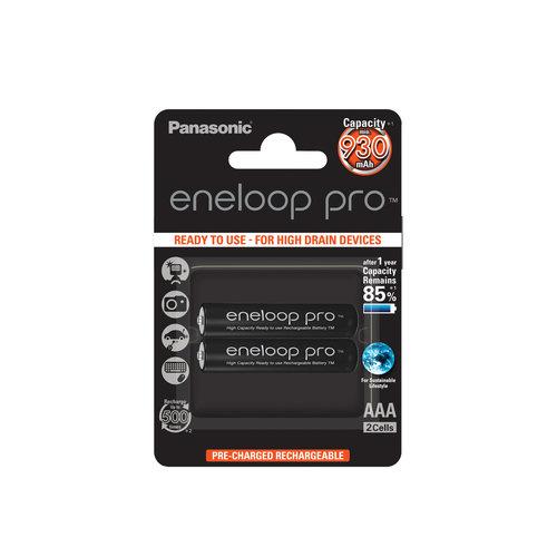 Panasonic Eneloop Pro BK-4HCDE AAA 930mAh Blister 2