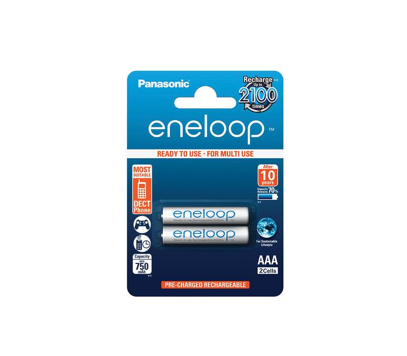 Panasonic Eneloop BK-4MCCE AAA 750mAh Blister 2