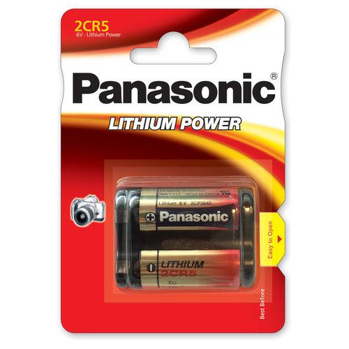 Panasonic 2CR5 6V Lithium Blister 1