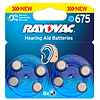Varta Acoustic Special Rayovac 675 Pack of 8