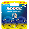 Varta Acoustic Special Rayovac 10 Pack of 8