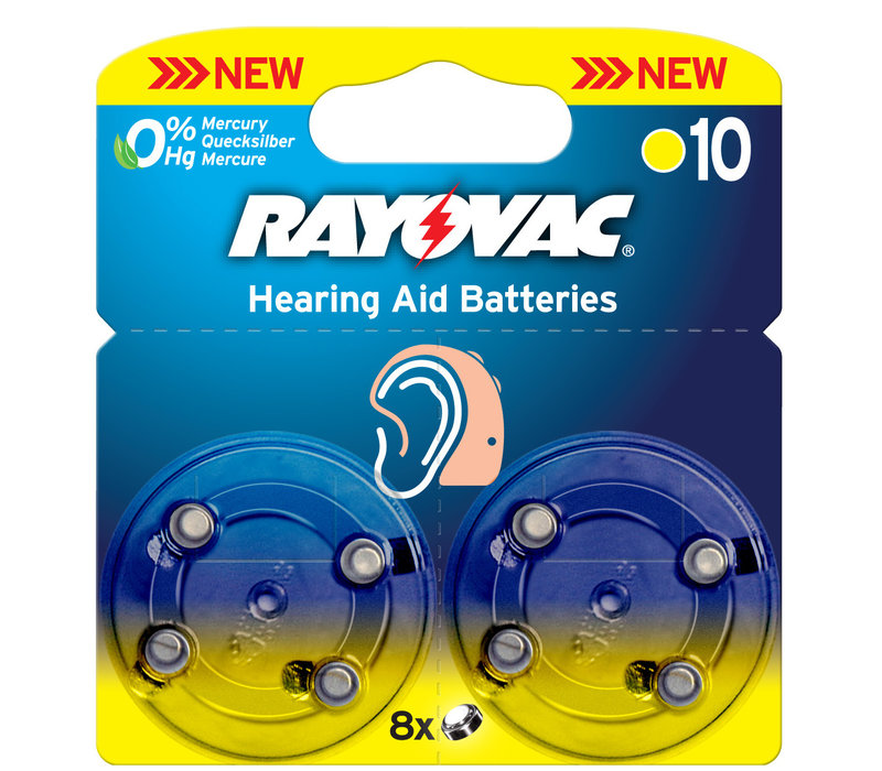 Acoustic Special Rayovac 10 Pack of 8