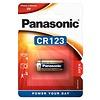 Panasonic Panasonic CR123A 3V Lithium Blister 1