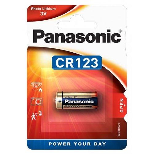 Panasonic CR123A 3V Lithium Blister 1