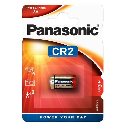 Panasonic CR2 3V Lithium Blister 1