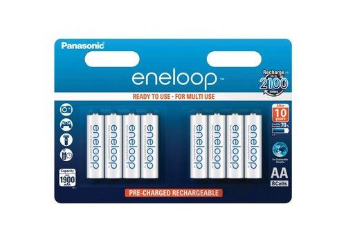 Panasonic Eneloop Panasonic Eneloop BK-3MCCE AA 1900mAh Blister 8