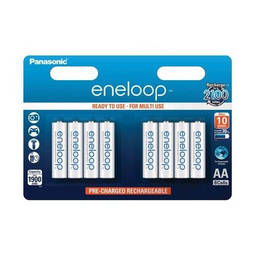Panasonic Eneloop BK-3MCCE AA 1900mAh Blister 8