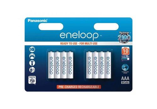 Panasonic Eneloop Panasonic Eneloop BK-4MCCE AAA 750mAh Blister 8