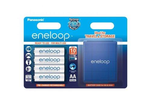 Panasonic Eneloop Panasonic Eneloop BK-3MCCEC AA 1900mAh Blister 4 + Case