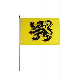 Hand flag Flanders