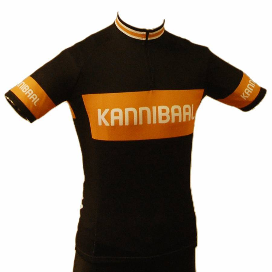 Retroshirt Kannibaal (Cannibal) short sleeved