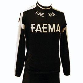 Retroshirt Faema lange mouwen