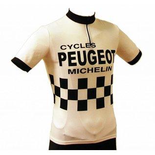 Retroshirt Peugeot korte mouwen
