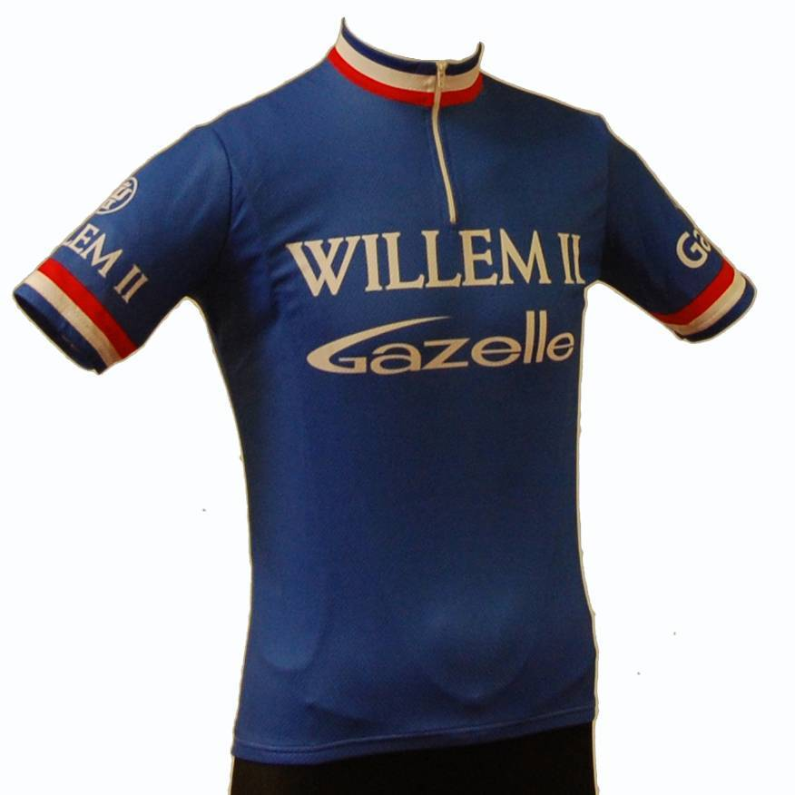 Retroshirt Willem II korte mouwen