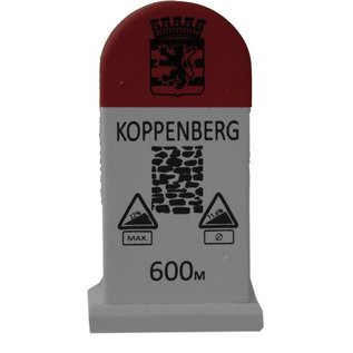 Kilometerpaal Koppenberg