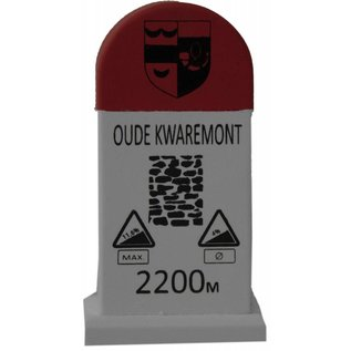 Kilometerpaal Oude Kwaremont