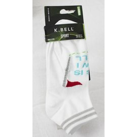 Socks K.Bell women white / green