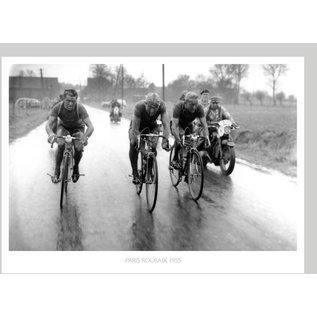 Poster Vintage Paris-Roubaix 1955